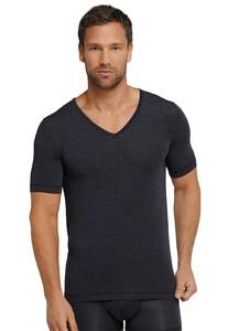 Schiesser Personal Fit Shirt V-Neck Midnight Navy