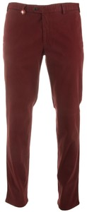 Hiltl Smooth Sensation Chino Donker Rood Melange