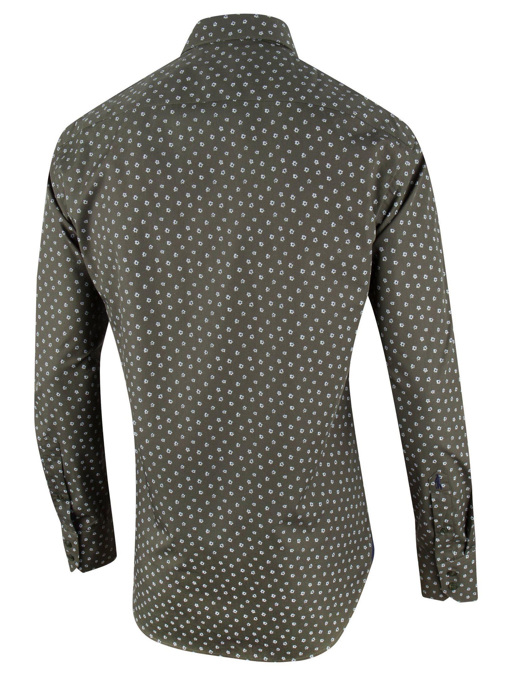 Donkergroen Overhemd.Cavallaro Napoli Tino Overhemd In Kleur Donkergroen Navy Jan