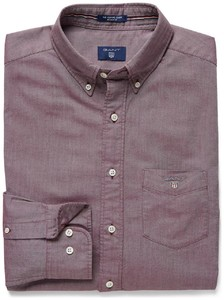 Gant The Oxford Shirt Donker Paars