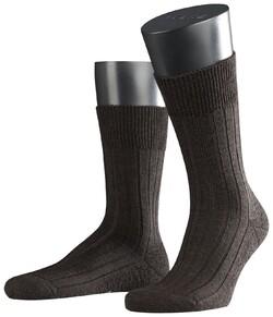 Falke Teppich im Schuh Donker Bruin