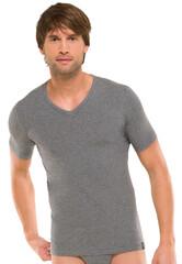 Schiesser 95-5 T-Shirt Grijs