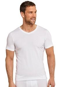 Schiesser T-Shirt Long Life Soft Wit