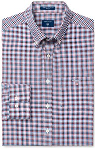 Gant The Broadcloth 3 Color Gingham Rhodedendron