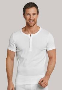 Schiesser Long Life Cool Button Shirt Wit
