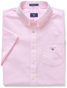 Gant The Broadcloth Banker Short Sleeve Shadow Rose