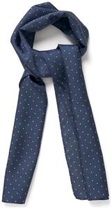 Gant Tuxedo Silk Scarf Navy