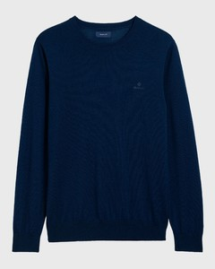 Gant Washable Merino C-Neck Persian Blue