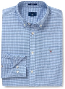 Gant The Oxford Check Hamptons Blue
