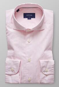 Eton Slim Fine Line Extreme Cutaway Roze