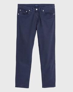 Gant Slim Straight Dusty Twill Jeans Navy