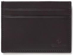Gant Leather Cardholder Black Coffee