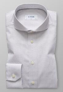 Eton Micro Pattern Grijs
