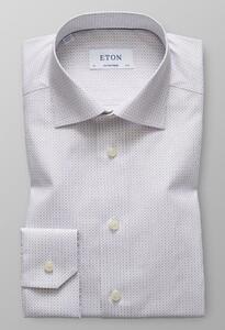 Eton Versatile Micro Pattern Grijs