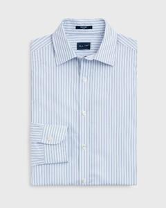 Gant Tech Prep Broadcloth Stripe Midden Blauw Melange