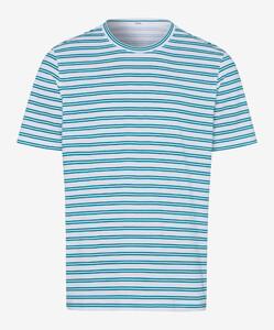 Brax Troy Striped Shirt Mint