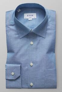 Eton Button Under Collar Donker Groen