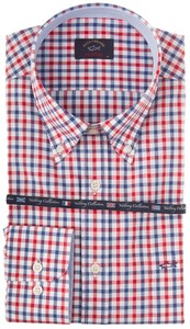Paul & Shark Yachting Square Blauw-Rood