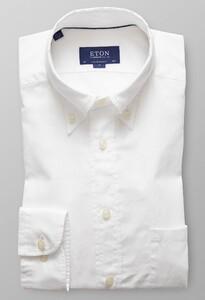 Eton Lightweight Uni Button Down Wit