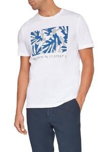 Maerz T-Shirt Round Neck Pure White