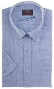 Paul & Shark Blue Chambray Licht Blauw