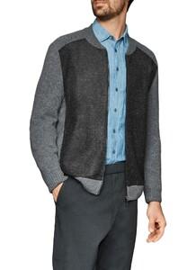 Maerz Zipper Vest Leaden Grey