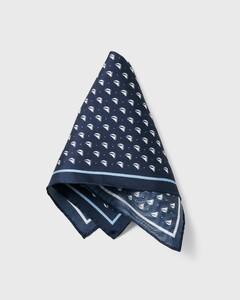 Gant Social Sports Pocket Square Persian Blue