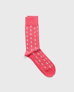 Gant Summer Socks Watermeloen Rood
