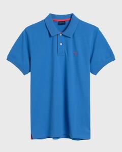 Gant Contrast Collar Piqué Palace Blue