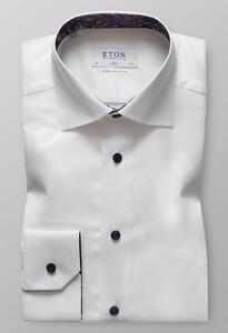 Eton Extra Long Sleeve Uni Wit