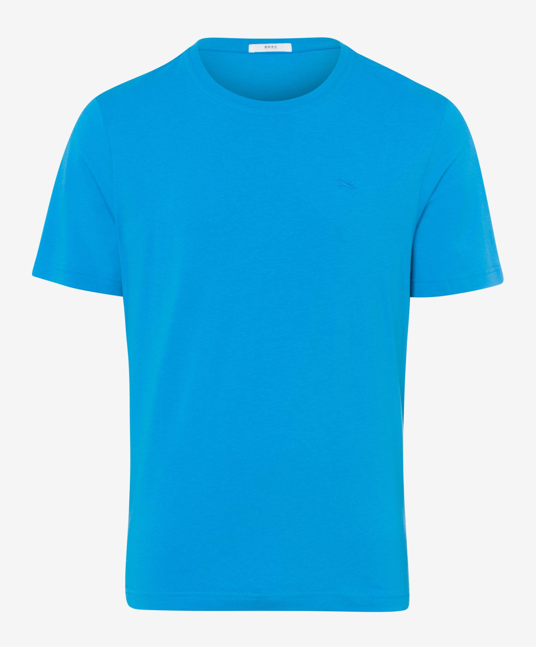 langlebig im einsatz üppiges Design Junge Brax Tommy Uni T-Shirt in kleur Water | Jan Rozing Mannenmode