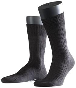 Falke Bristol Pure Socks Antraciet