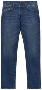 Gant Slim Straight Jeans Mid Blue Worn In
