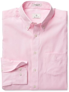 Gant Diamond G Pinpoint Oxford Zacht Roze