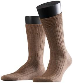 Falke Bristol Pure Socks Donker Zand
