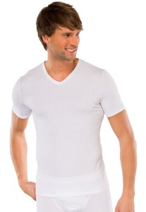 Schiesser Authentic T-Shirt V-Neck 2Pack Wit