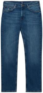 Gant Regular Straight Jeans Mid Blue Worn In