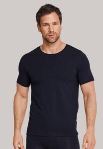 Schiesser Long Life Soft Shirt Ronde Hals Dark Navy